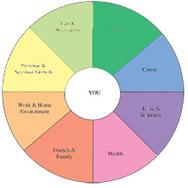 life coaching balance wheel